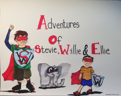Adventures of Stevie, Willie, and Ellie Blog Comic